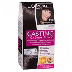 loreal paris casting creme gloss ebony black 200 875 g 72 ml - Coloration Gloss L Oral