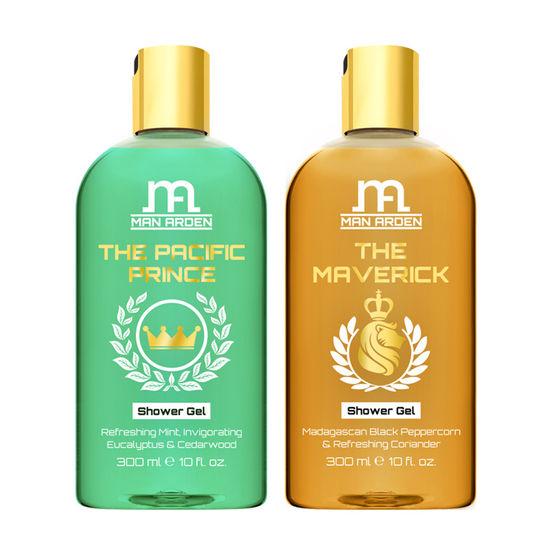 Man Arden The Pacific Prince + The Maverick Luxury Shower Gel (300 Ml)